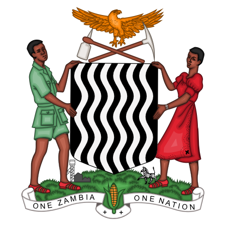 Logo Government of Zambia